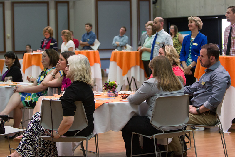 Western New York Master Teachers poster presentations at Buffalo State College.