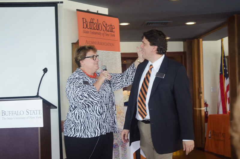 Reunion Weekend 2016 50-Plus Club Reception held by the Buffalo State Alumni Association.