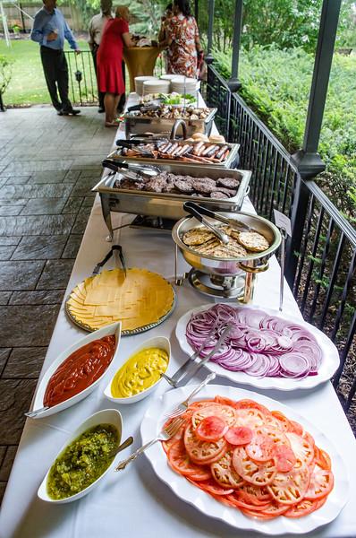 Buffalo state's Senior Stuff BBQ held at the president's residence.
