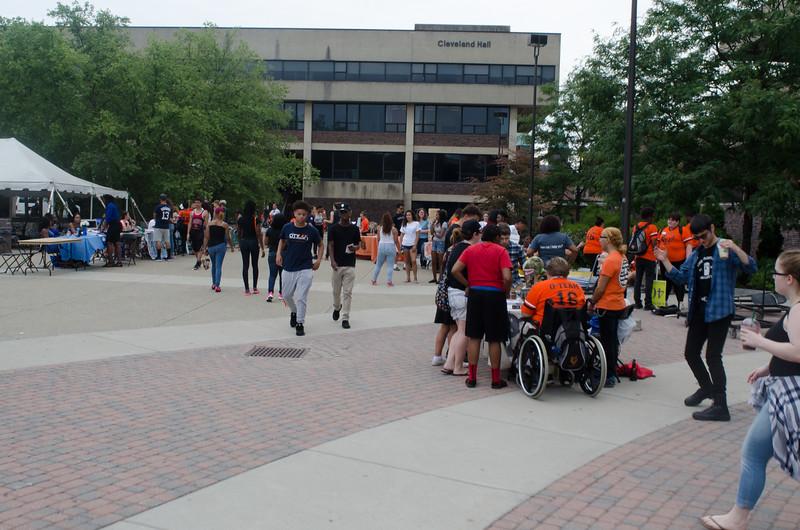 Freshman Orientation at SUNY Buffalo State.