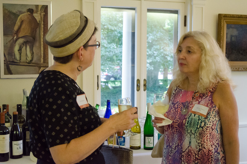 Newly Promoted and Tenured Faculty Reception held at the President house.