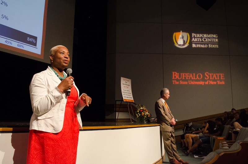 Transfer Orientation at Buffalo State Collage