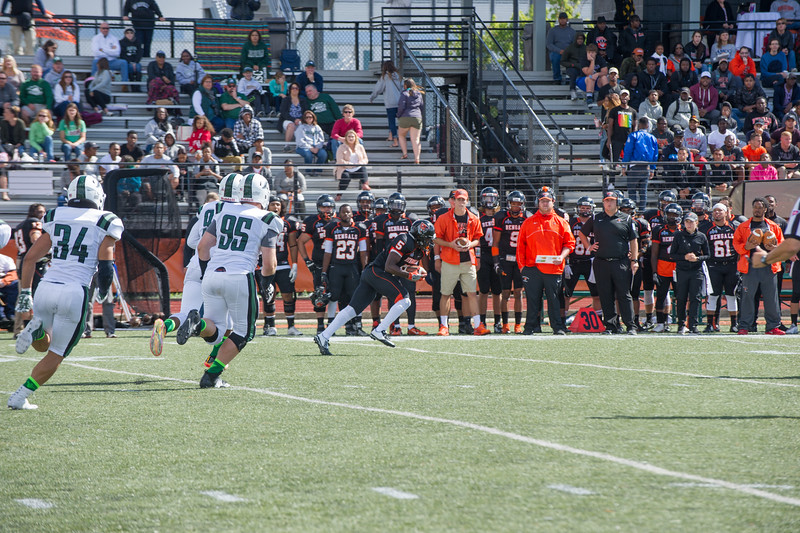 Homecoming football game at Buffalo State College.