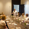 Alpha Sigma Pi Alumni memebrs meeting at the New hotel henry for a Luncheon.
