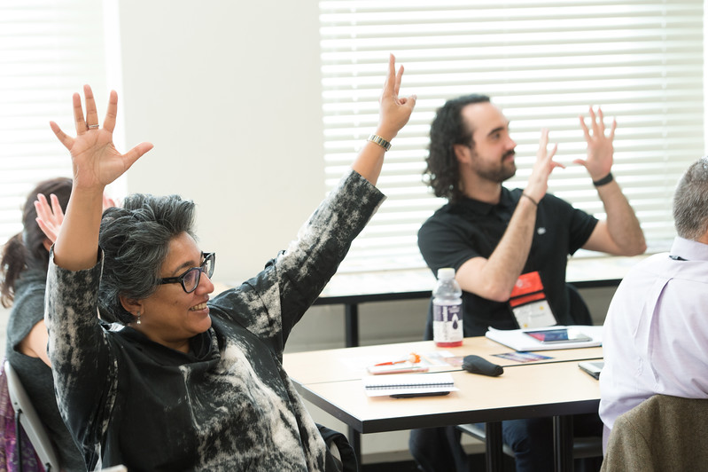 Creative Studies Creativity Expert Exchange Conference at Buffalo State College.