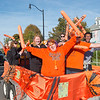 Homecoming Parade and Party on the Quad at Buffalo State College.