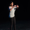 """""""Muthaland"""" one woman show by Minita Gandhi performed during the Anne Frank Social Justice Festival at Buffalo State College."""