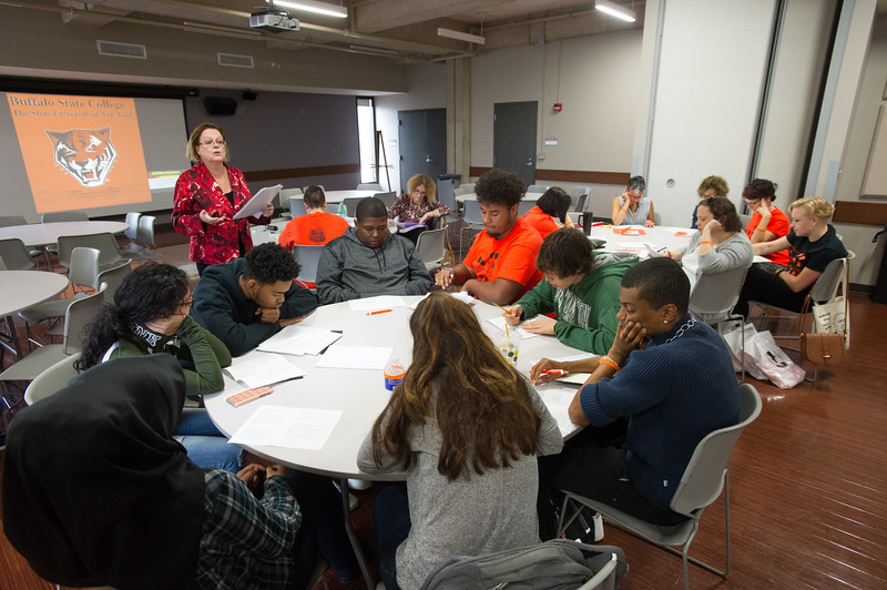 Anne Frank Social Justice Festival (AFP) day two at Buffalo State College.
