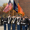 Veteran's Day Silent March at Buffalo State College.