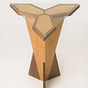 Student wood design work by