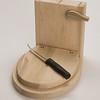 Student wood design work by Emi Seliqer