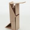 Student wood design work by Ke Shi