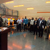The Engineering Technology Department host a event for the Buffalo Niagara Manufacturing Alliance.