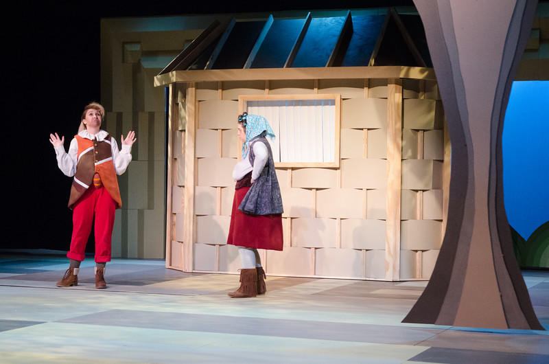 """Buffalo State's Theater Department production of """"The Doctor in Spite of Himself"""""""