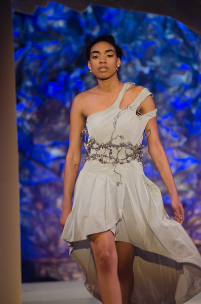 Fashion and Textile Technology Runway 10 fashion show at Buffalo State College.
