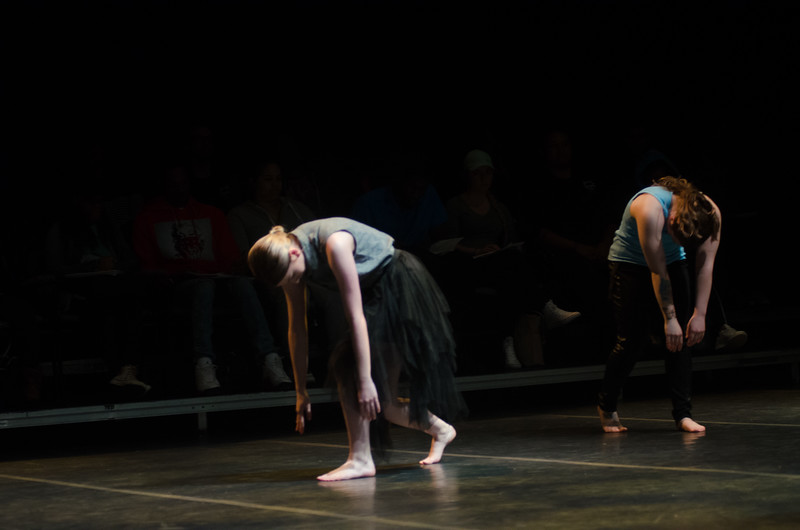 """Circle: Dance in the Round""student dance concert at Buffalo State College."