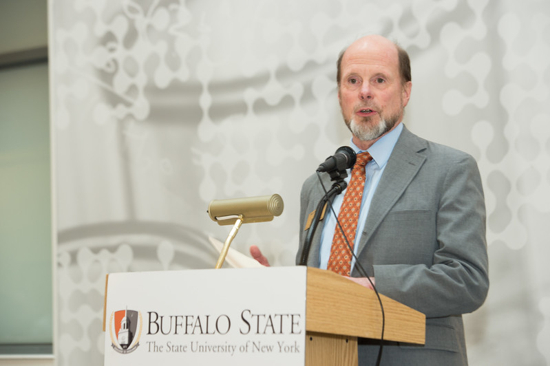 Research Recognition ceremony at Buffalo State College.