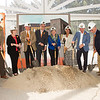 Ground breaking for the Jacqueline Vito Lorusso Alumni and Visitor Center at Buffalo State College.