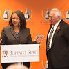 Naming ceremony for the Statler Foundation Room and Russel J. Salvatore Demonstration Kitchen at Buffalo State College.