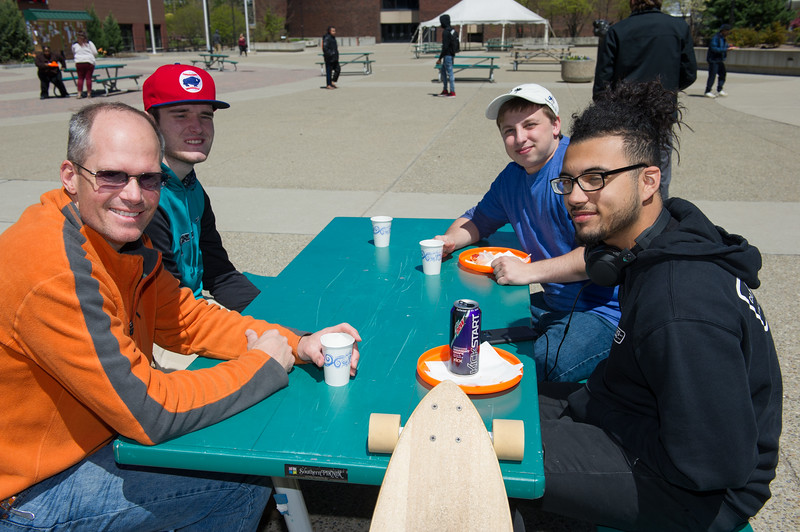 """School of Education """"Hooray for Teachers"""" event at Buffalo State College."""