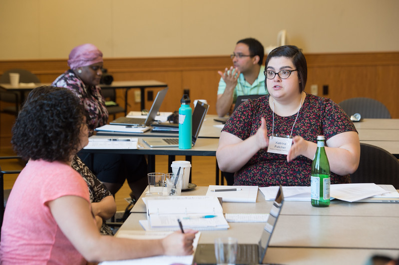 """""""High Impact Practices"""" faculty workshop at Buffalo State College."""