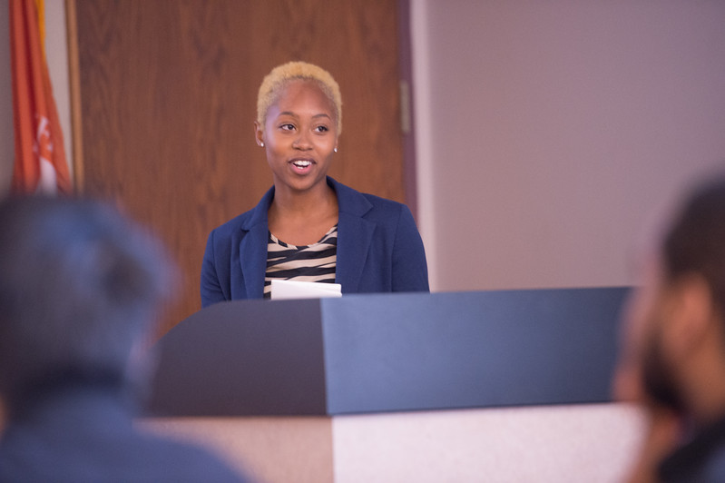 McNair Scholars Research Symposium at Buffalo State College.