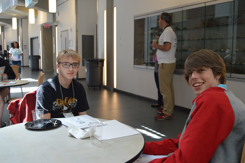Western New York climate summit held at Buffalo State College for various High School Students.