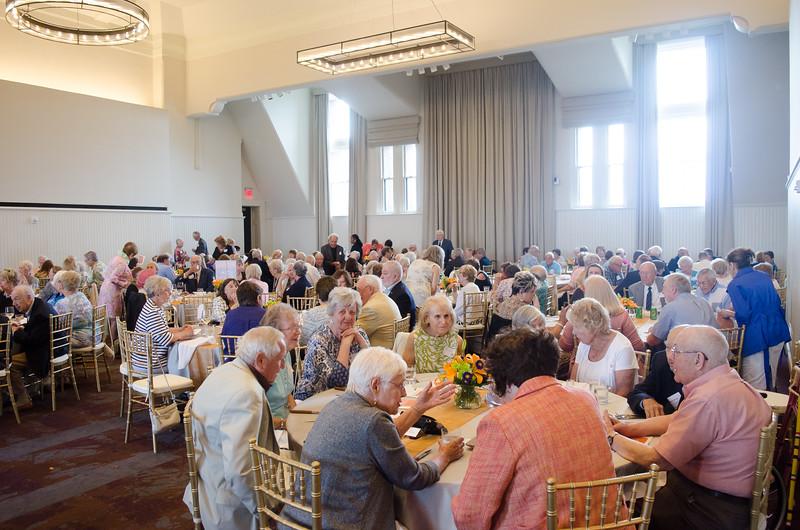 Reunion Weekend 2017 50-Plus Club Reception held by the Buffalo State Alumni Association.