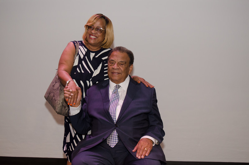 Upward Bound Recognition Dinner Banquet with special guest Andrew Young Jr., former U.S. congressman, United Nations ambassador, civil rights leader, and mayor of Atlanta, Georgia.