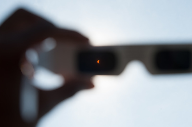 Buffalo State welcomed the public to campus to view the Solar Eclipse.