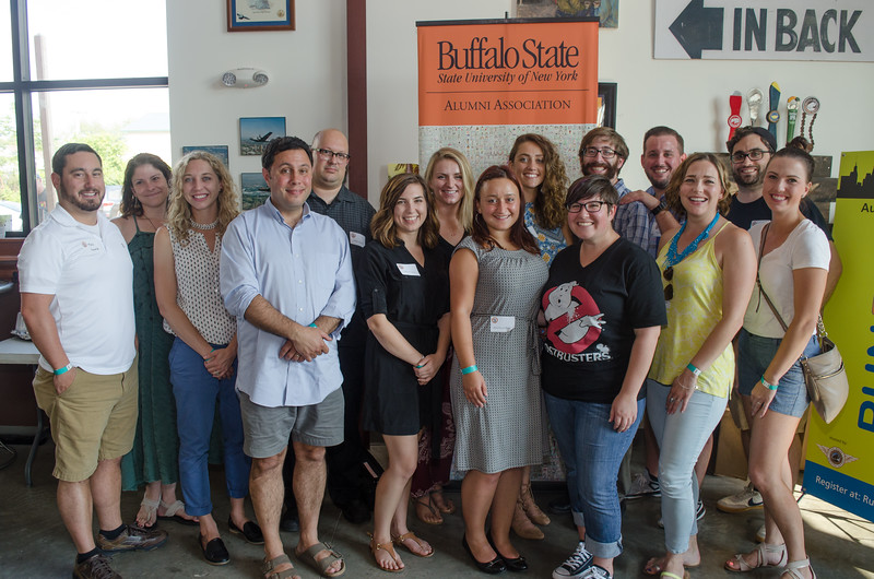 English Teacher Reunion at the Flying Bison put on by the Alumni Association
