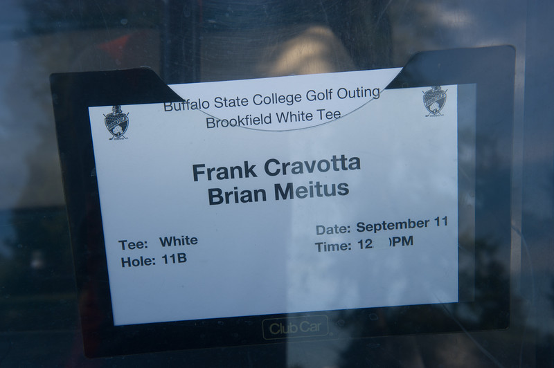 Golf and Tennis scholarship fundraiser at Buffalo State College.