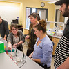 Students working in Biology lab at Buffalo State College.
