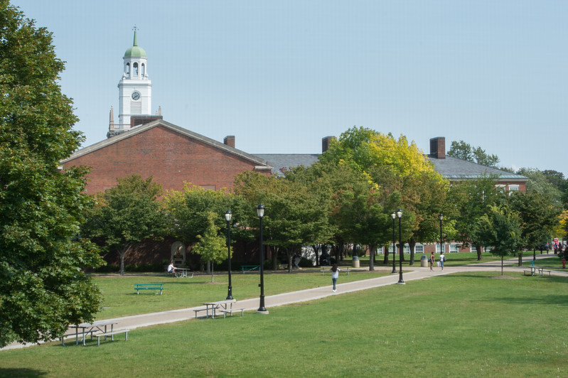 Horace Mann Quad at Buffalo State College.