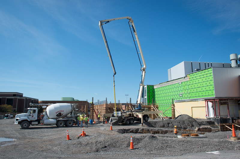 Construction of Phase 4 of the Science and Math Complex at Buffalo State College.