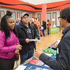 Career Development Center Graduate School Fair at Buffalo State College.