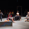 "Performance of ""The Space Between"" during  the Anne Frank Project Social Justice Festival at Buffalo State College."