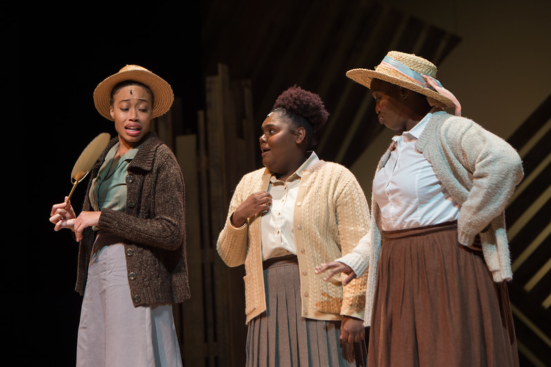 """Student theater production of """"The Color Purple"""" at Buffalo State College."""