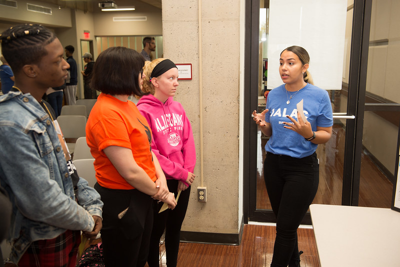 Anne Frank Social Justice Festival (Day 2) at Buffalo State College.