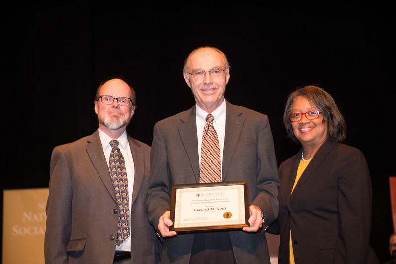 Faculty and Staff Recognition Ceremony at Buffalo State College.