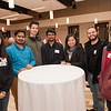 International student alumni reception at Buffalo State College.