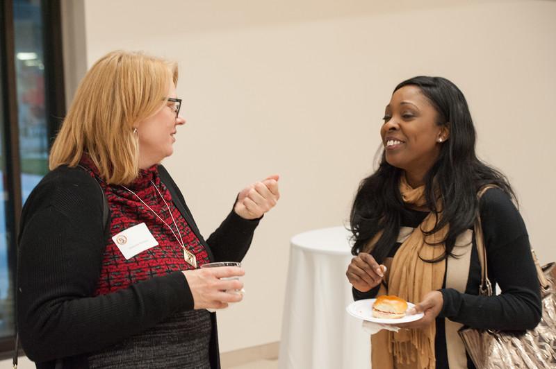 International student alumni reception at Buffalo State College.