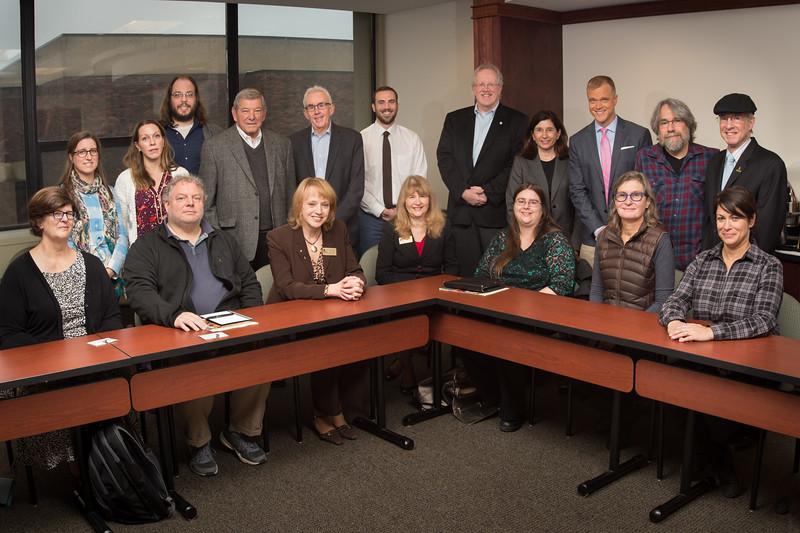 Communication Department advisory board at Buffalo State College.