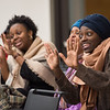 Community Sing with Dr. Ysaye Barnwell at Buffalo State College.