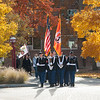 Veteran's Day Silent March observance at Buffalo State College.