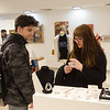 Buffalo State annual student art sale 2018.