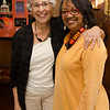The President hosted a reception for Ysaye Barnwell, other Buffalo State facuity were also present.