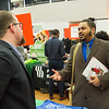 Career Development Center Job Fair at Buffalo State College.