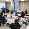 Tutor orientation by Lauren Copeland at Buffalo State College.