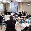 Tutor orientation by Lauren Copeland at Buffalo State College.